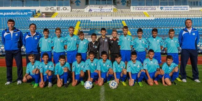 Juniorii D ai clubului Pandurii participă la turneul de zonă de la Timişoara
