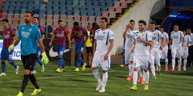 Pandurii Târgu Jiu va întâlni FC Steaua SA Bucureşti în finala Cupei Ligii Adeplast