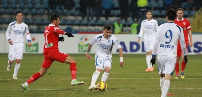 Pandurii Târgu Jiu caută diseară a treia victorie consecutivă cu Dinamo Bucureşti