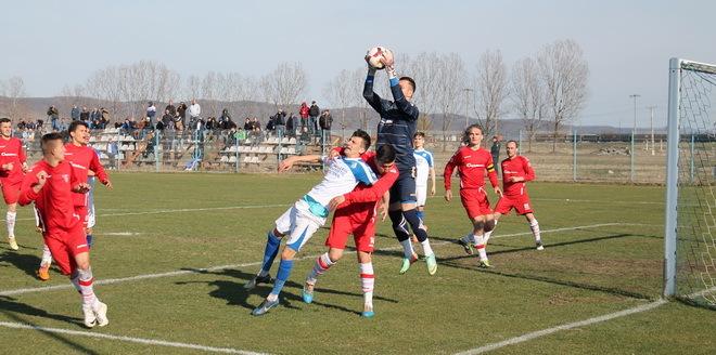Pandurii 2 Târgu Jiu a fost învinsă la limită de UTA Bătrâna Doamnă, scor 0-1
