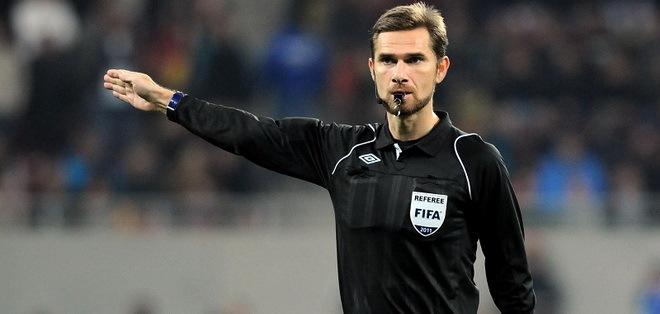 Alexandru Tudor va arbitra meciul Pandurii Târgu Jiu – Dinamo Bucureşti