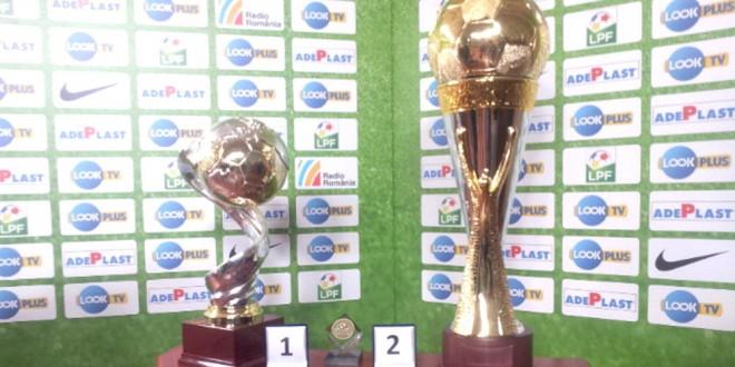 LPF a prezentat trofeele care vor răsplăti campioana şi câştigătoarea Cupei Ligii