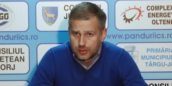 COMUNICAT / Edward Iordănescu, antrenor Pandurii Târgu Jiu
