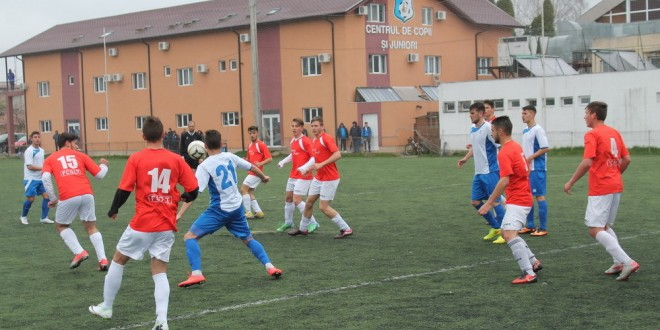 Juniorii A, victorie cu 10-0 la Frontiera Drobeta