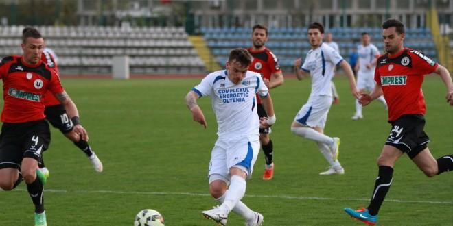 Pandurii Târgu Jiu – Universitatea Cluj, scor 0-1, în etapa 27 a Ligii I