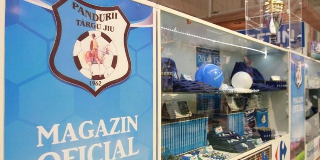 Clubul Pandurii Târgu Jiu a inaugurat azi magazinul oficial din Carrefour Târgu Jiu