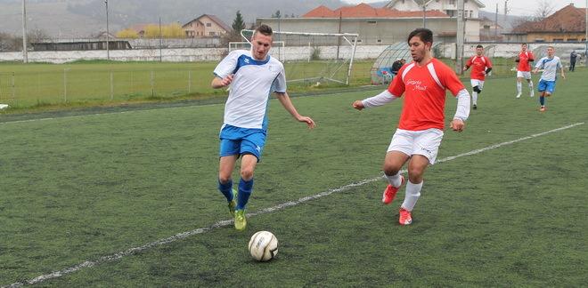 Juniorii A au câştigat clar cu CSS Slatina, scor 4-1