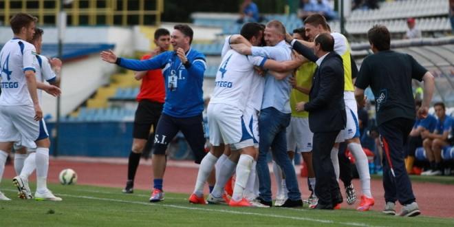 Ne-am garantat al 11-lea sezon consecutiv în Liga 1 după victoria spectaculoasă cu CSMS Iaşi, scor 5-2 !