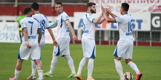 Pandurii Târgu Jiu a încheiat sezonul 2014-2015 pe locul 9