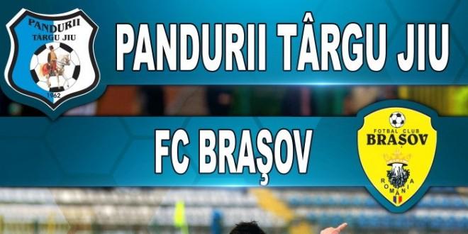 Biletele pentru meciul Pandurii – FC Braşov şi tichetele gratuite pentru acces la peluze se pot procura mâine de la casa de bilete