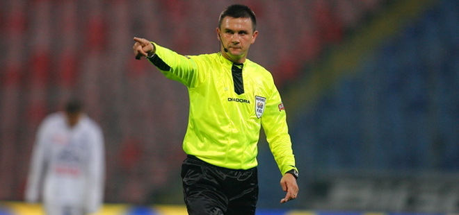 Cristian Balaj va arbitra Pandurii – FC Braşov