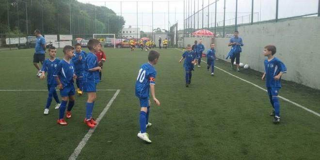 """Juniorii  2007 ai clubului Pandurii s-au clasat pe locul patru la turneul """"Fotbal a la Cluj"""" 2015"""
