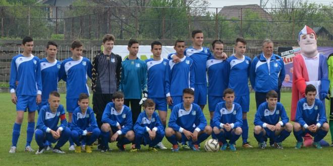 Juniorii C ai clubului Pandurii participă la turneul de zonă de la Reşiţa