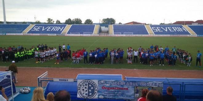 Juniorii 2002 ai clubului Pandurii Târgu Jiu au câştigat Turneul Internaţional de la Severin