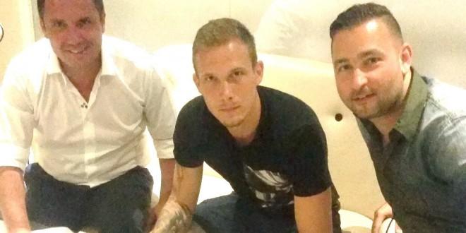 COMUNICAT / Mijlocaşul ceh Lukas Droppa a semnat un contract pentru doi ani cu Pandurii Târgu Jiu