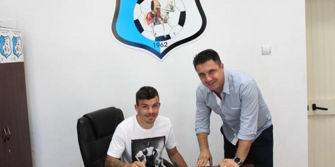 COMUNICAT / Dan Nistor a semnat un contract pentru următoarele două sezoane cu Pandurii Târgu Jiu