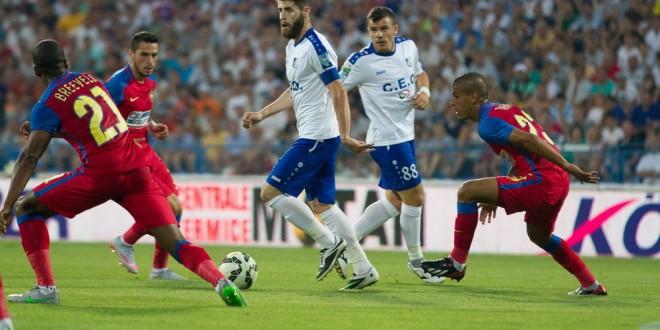 Pandurii Târgu Jiu a pierdut meciul din etapa a II-a a Ligii I cu FC Steaua Bucureşti, scor 0-3