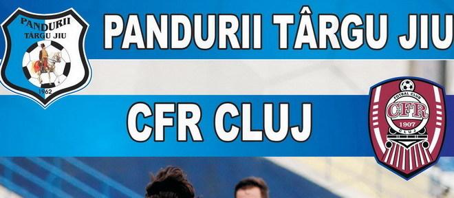 Duminică se vor pune în vânzare biletele pentru meciul din etapa a 7-a dintre Pandurii Târgu Jiu – CFR Cluj