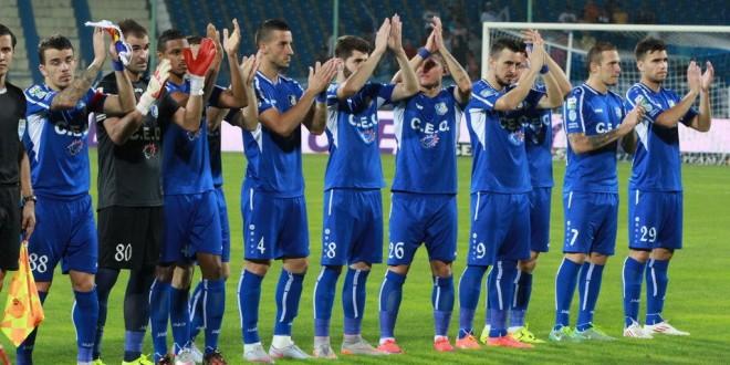 Pandurii Târgu Jiu este  lider între primele șase clasate din Liga I la final de tur