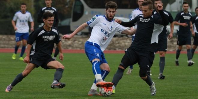 Pandurii Târgu Jiu s-a impus cu scorul de 7-0 în meciul amical contra formaţiei Minerul Motru