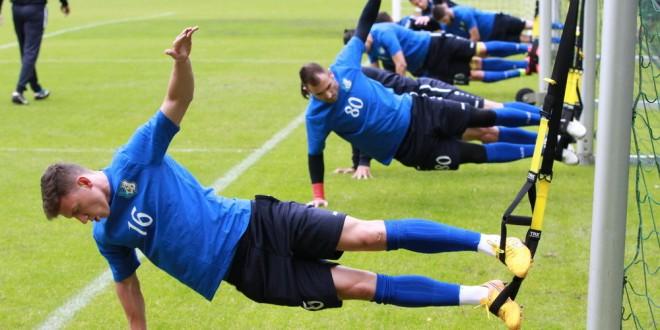 Jucătorii echipei Pandurii s-au deplasat în această dimineaţă la Braşov şi azi au susţinut primul antrenament