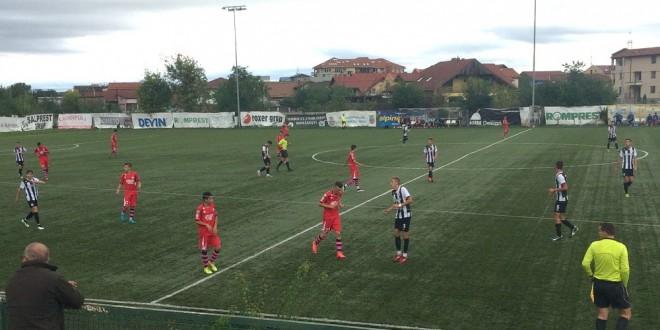 Juniorii U 17 ai clubului Pandurii Târgu Jiu s-au impus cu scorul de 3-1 în meciul cu Gaz Metan Mediaş
