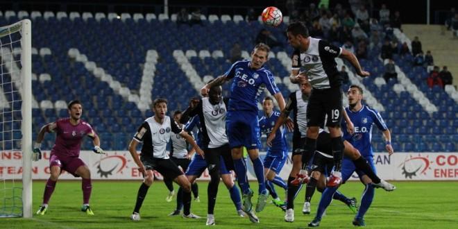 Pandurii Târgu Jiu s-a impus cu scorul de 1-0 în meciul din etapa a 13-a cu FC Viitorul
