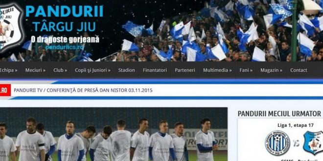 Site-ul oficial www.panduriics.ro a urcat pe locul 6 în categoria fotbal şi pe locul 36 în categoria sport