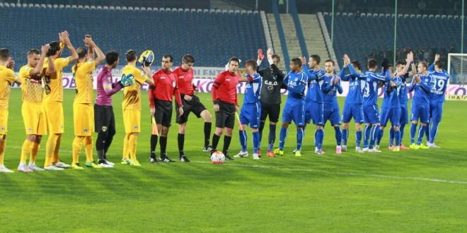 Pandurii Târgu Jiu a învins Petrolul Ploieşti, scor 3-2, în etapa a 18-a din Liga I Orange
