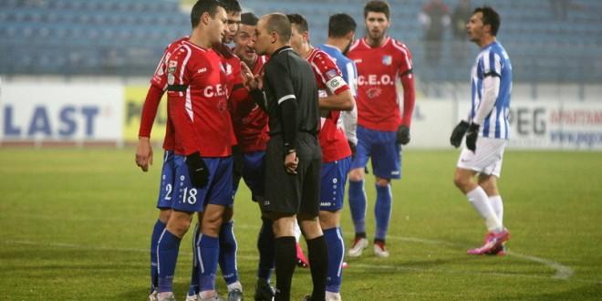 PRESA / VIDEO  / CSMS Iași – Pandurii 1-0. Un penalty controversat a încheiat o serie de 10 etape fără înfrângere pentru gorjeni (Digi Sport)