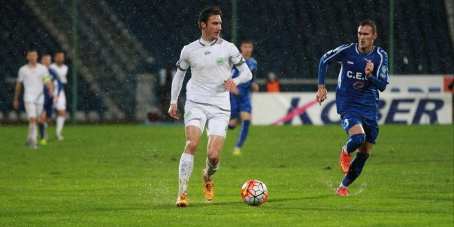 Daniel Mărgărit  a debutat oficial  la prima echipă în meciul Pandurii – Concordia Chiajna