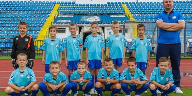 Juniorii 2007 ai clubului Pandurii Târgu Jiu au debutat cu o victorie la turneul de zonă al Trofeului Gheorghe Ene