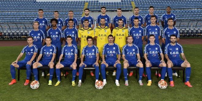 Pandurii Târgu Jiu încheie un an bun în care echipa a renăscut şi a ajuns din nou în elita primei ligi
