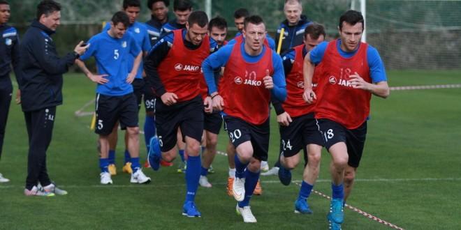Lotul echipei Pandurii se pregăteşte intens în cantonamentul din Spania