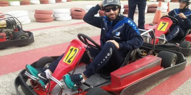FOTO / Prima zi liberă în cantonament pentru Pandurii a inclus în program un  team-building la karting