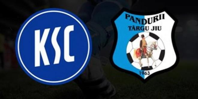 Meciul amical dintre Karsruher SC şi Pandurii Târgu Jiu poate fi urmărit livestram pe internet
