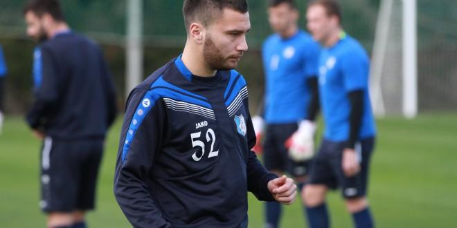 FOTO / Pandurii Târgu Jiu l-a transferat pe căpitanul echipei CS Mioveni, Alexandru Răuţă