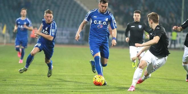 Pandurii Târgu-Jiu a remizat în etapa a 25-a în meciul cu CS Universitatea Craiova, scor  1-1