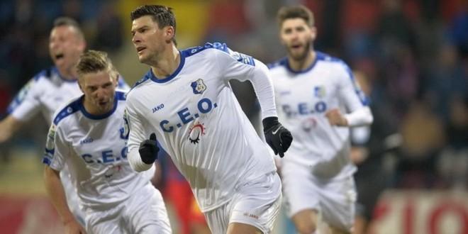 Cristi Săpunaru a marcat primul gol din 2016 pentru Pandurii şi a devenit al doilea marcator al echipei