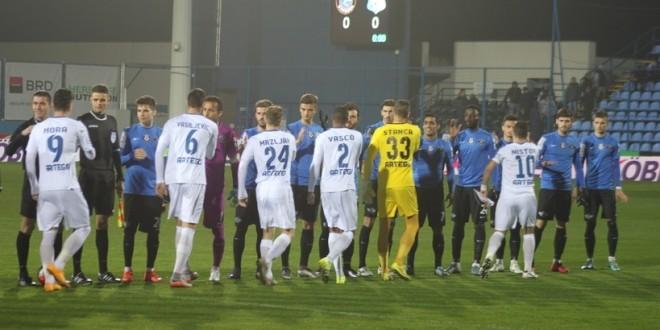 Pandurii Târgu Jiu s-a impus în ultimul meci din sezonul regulat, scor 3-1 cu FC Viitorul