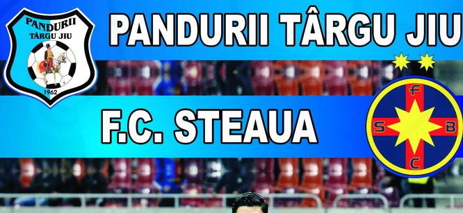 Bilete pentru meciul Pandurii – Steaua, la sediul clubului Pandurii din Târgu Jiu