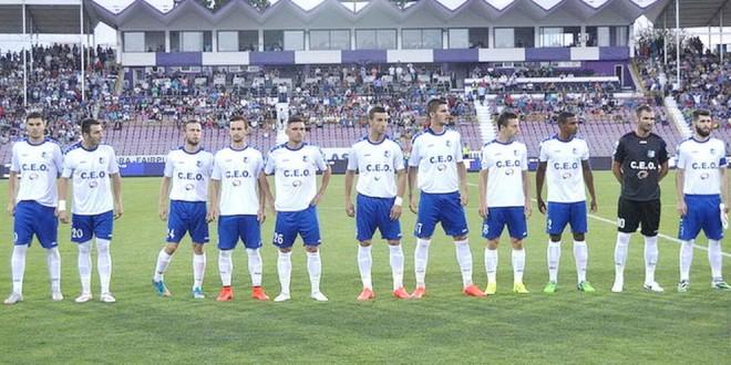 Pandurii Târgu Jiu, pe locul I în clasamentul meciurilor dintre primele şase echipe care s-au calificat în play-off