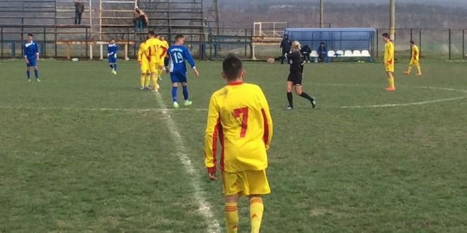 Juniorii clubului Pandurii au învins Centrul de Excelenţă al FRF de la Târgu Mureş, scor 3-2 în Liga Elitelor