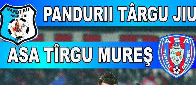 Luni se pot procura biletele pentru meciul dintre Pandurii şi ASA Târgu Mureş din etapa a VI-a din play-off