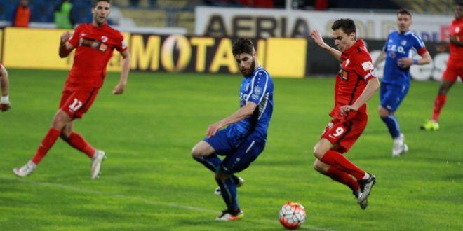 Pandurii Târgu Jiu  – Dinamo Bucureşti, scor  0-0, în etapa a opta din play-off-ul Ligii 1 Orange