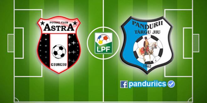 ASTRA – PANDURII, LIVE TEXT, ora 18:30, www.lpf.ro