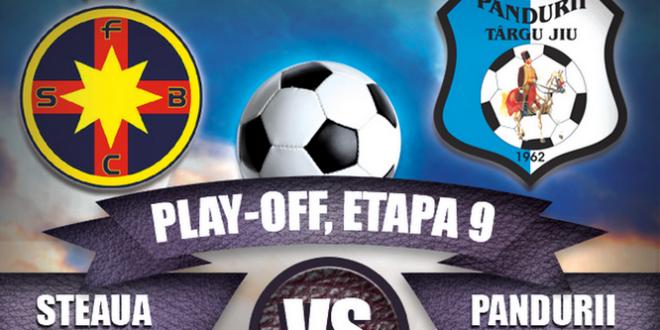LIVE TEXT / STEAUA BUCUREŞTI – PANDURII TÂRGU JIU, Etapa a 9-a play-off, Liga I Orange