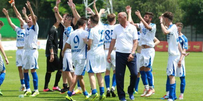 Câştigătorii ai Cupei României, juniorii Under 17 ai clubului Pandurii se pregătesc pentru Supercupa României