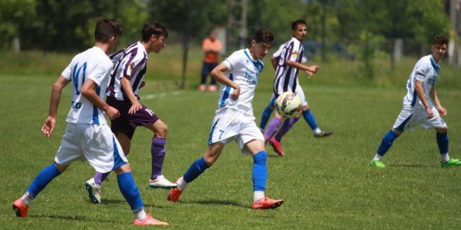 Juniorii U 17 ani ai clubului Pandurii s-au calificat azi în semifinalele Cupei României