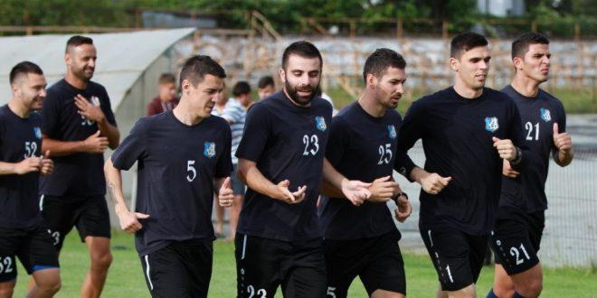 Pandurii Târgu Jiu s-a reunit azi la Bucureşti pentru deplasarea în Slovenia: Voiculeţ şi Buleică s-au alăturat echipei la antrenament